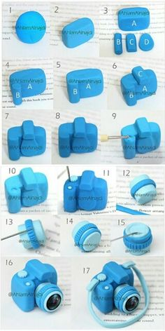 Fondant Camera Step-By-Step!! So doing this (: