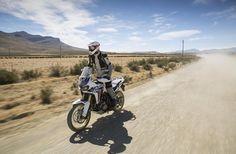 Honda Africa Twin 2016 Test
