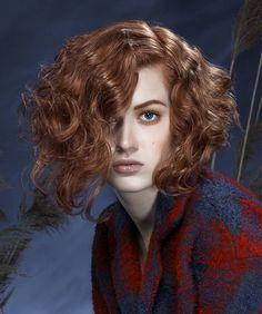 Framesi Medium Red Hairstyles