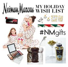 """The Holiday Wish List With Neiman Marcus: Contest Entry"" by nieboskakara ❤ liked on Polyvore featuring Neiman Marcus, Bed Head by TIGI, DANNIJO, Nest Fragrances, Christian Louboutin, Jonathan Adler, Christmas and NMgifts"