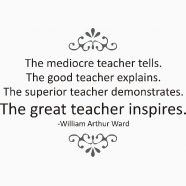 A large assortment of wall quotes created just for that special teacher in your life. Prices start at just $18.50