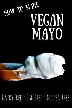 This vegan mayo recipe uses olive oil and soy milk to make a gluten free, dairy free, and egg free mayo! You can use this mayo on sandwiches, in dips, or salads to make them creamy and delicious without eggs or dairy. thehiddenveggies.com #veganmayo #veganmayonnaise #mayonoegg #howtomakeveganmayo #veganmayorecipe #homemademayo #veganspread #vegandips