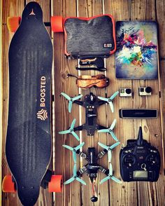 Getting my stuff ready to go fly with @mrsteelefpv…