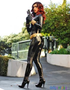 The Avengers Cosplay: Black Widow | Natasha Romanoff (Sasha Perdigao)