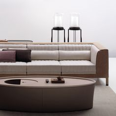 chi wing lo KALO sofa system - in my future living room oh yea! Sofa Furniture, Luxury Furniture, Furniture Design, Booth Seating, Lounge Seating, Living Room Designs, Living Room Decor, Luxury Sofa, Sofa Set