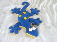 Gertie the Gecko HEAT PACK Sewing Pattern - Funky Friends Factory