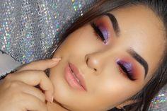 Purple makeup that I like Makeup Goals, Makeup Inspo, Makeup Art, Makeup Inspiration, Makeup Tips, Beauty Makeup, Hair Makeup, Makeup Videos, Glitter Eyeshadow