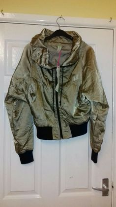 4340f82b13019 Womens Gold Jacket Size 10 Primark Bnwt #fashion #clothing #shoes  #accessories #