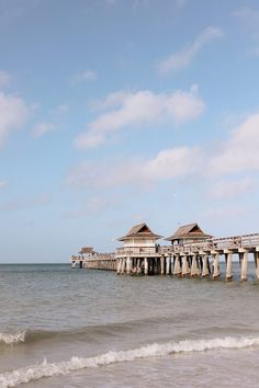 Vacation well in Paradise at the historic landmark Naples Pier. Naples, Marco Island and the Everglades - Floridas Paradise Coast Florida beach travel! Spectacular Things to Do in Naples This Weekend