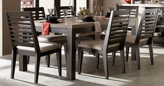 4 Wonderful Useful Tips: Rustic Dining Furniture Home Decor dining furniture ideas thrift stores.Outdoor Dining Furniture Apartment Therapy rustic dining furniture home decor. Kitchen Dining Sets, 7 Piece Dining Set, Dining Room Sets, Kitchen Tables, Kitchen Ideas, Outdoor Dining Furniture, Dining Chairs, Eames Chairs, Side Chairs