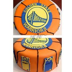 golden state warriors cake - Google Search 9th Birthday Parties, 14th Birthday, Summer Birthday, Boy Birthday, Birthday Cakes, Jordan Cake, Teenage Parties, Basketball Party, Golden Birthday