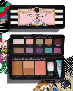 Too Faced founder Jerrod Blandino on Too Faced's limited-edition 15th anniversary palette, exclusively at Sephora. Read more on the Glossy! #SephoraSweet15