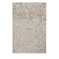 Cowhide rugs, like our Laredo Rug, deliver bold and unexpected texture and natural warmth to any room. This rug takes it one step farther with the clever combination of hand-stitched cowhide with soft, handwoven viscose. The result is a totally unique piece with 1/4 pile that feels right at home under bare feet. The rug's geometric pattern hints at a diagonal houndstooth design.                Hand-stitched cowhide and viscose rug in a geometric design                    A surprising and…