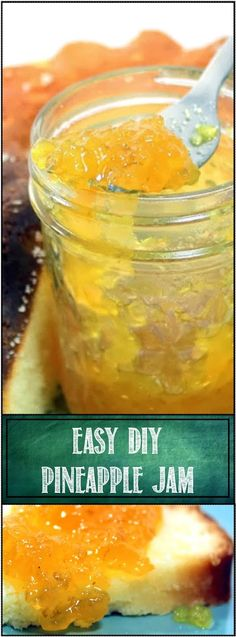 Pineapple Jam... EASY Tropically Exotic - Small Batch Canning This really is VERY VERY EASY to make. The canning process is simple, Pineapple and limes provide plenty of acid to keep the finished jam from spoiling for months. It is also the basic recipe you can use to make almost any fruit jam you could think of... Strawberry, Grape, Blue, Black or whatever Berry works just as well as the Pineapple. And it is deliciously sweet, and a little Tropically exotic!