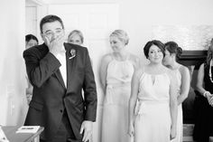 love this Dad's reaction to seeing his daughter!! | Armosa Studios #wedding