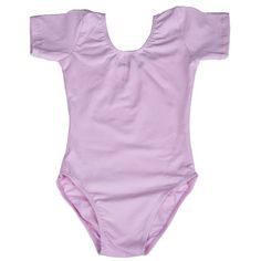 Weanas® Girls 2-6x Team Basic Soft Breathable Quick-drying Cotton Short Sleeve Leotard   http://www.amazon.com/gp/product/B00JP7MD22