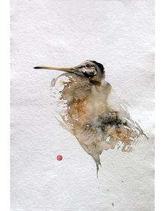 サンフランシスコ出身のアーティスト、カール・マルテンスさんは、書道用の筆を使用して、見事な鳥の水彩画を手掛けている。筆の質感を活かしたダイナミックかつ繊細なタッチで、さまざまな鳥たちを自...