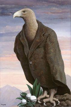 bird wearing suit jacket art