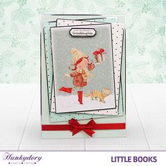 With a wide range of Hunkydory 'Little Book' titles available to purchase, you'll be able to coordinate many projects to come - take advantage of our fantastic offer and get 3 for the price of Christmas Cards To Make, Xmas Cards, Christmas Crafts, Greeting Cards, Christmas 2015, Christmas Ideas, Book Crafts, Arts And Crafts, Paper Crafts