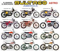 Bultaco / América / El Montadero - El Bandido - Astro