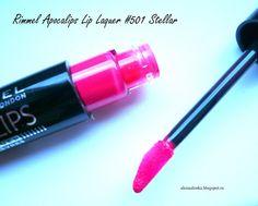 Alenka's beauty: Rimmel Apocalips Lip Lacquer #501 Stellar...