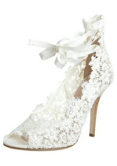 White shoes, love the lace