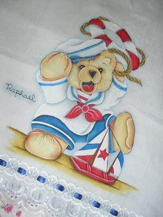 riscos  de bebes marinheiro para pintura em tecido | ... marinheiro-pintura-em-tecido fralda-3-ursinho-marinheiro-pintura-em