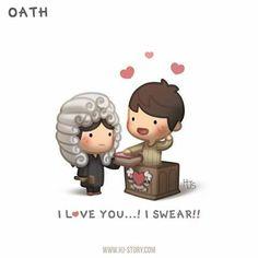 i love you.. i swear!