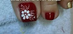 New fails art flores manicures Ideas Pretty Toe Nails, Cute Toe Nails, Toe Nail Art, Acrylic Nails, Feet Nail Design, Toe Nail Designs, Flower Pedicure Designs, Fingernails Painted, Fail Nails