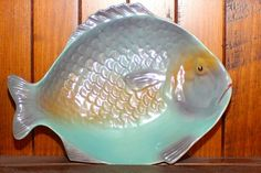 Shorter and Son Fish Platter Fish Platter, Vintage Fishing, Decorative Bowls, Sons, Pottery, Plates, Retro, Blog, England