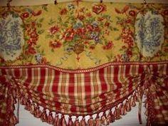 Farm Curtains Barnyard Curtains Primitive Curtains Rose Green Curtains