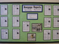 Head your Newspaper Reports display with this lovely themed banner! Features our own illustrations to help brighten up your classroom, and clearly define the theme of your topic board. Class Displays, School Displays, Classroom Displays, Classroom Themes, Superhero Classroom, Museum Displays, Literacy Display, Display Boards For School, Newspaper Report