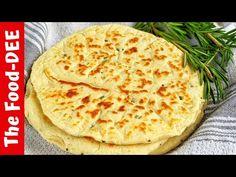 (17) Quick & Easy Pita Bread Recipe - YouTube Pita Recipes, Greek Recipes, Tea Loaf, Greek Cooking, Yummy Food, Tasty, Dough Balls, Pita Bread