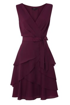 pretty eggplant dress for bridesmaids. too bad the link doesn't work.