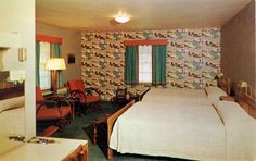 60's motel rooms - Bing Images