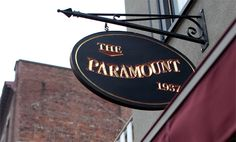 The Paramount in Boston...one of my all time favorite restaurants