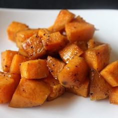 Spicy Sweet Potatoes Recipe - I modified this and it was so good!