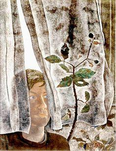 Interior Scene, 1948 - Lucian Freud (British, 1922-2011) Sigmund Freud, Lucian Freud, Antoine Bourdelle, Chaim Soutine, Berlin, Art Institute Of Chicago, Figure Painting, Contemporary Paintings, Figurative Art