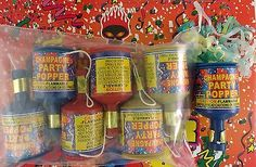 PARTY POPPERS Birthdays Weddings Celebrations Loot Bags, SELECT: 6 or 12 Poppers