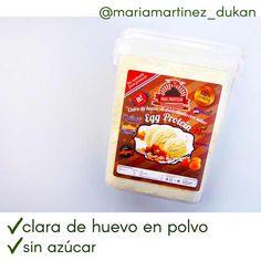 Clara de huevo en polvo (proteina de huevo), apta desde fase 1. Lista de la Compra Dukan: mis compras del mes