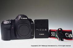 CANON EOS 5D Mark II Body 21.1MP Digital Camera Shutter Count 10644 Excellent+ #Canon