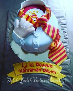 #Galatasaray cake #galatasaray pastasi