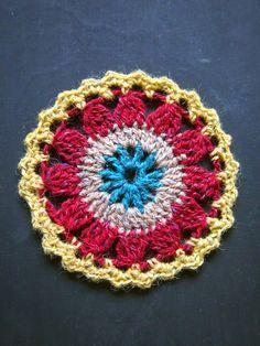 omⒶ KOPPA: Colored flower circle (4 colors)