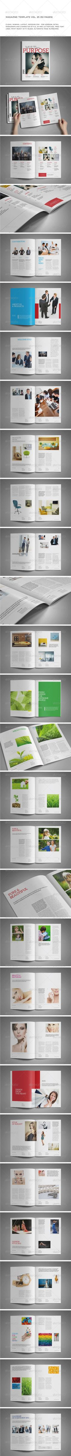 Indesign template vol 25 You can download this template here : http://graphicriver.net/item/a4letter-50-pages-mgz-vol-25/6063739?WT.oss_phrase=&WT.oss_rank=25&WT.z_author=Shafura&WT.ac=search_thumb