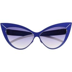 2d5ea5d2dd Mykita For Beth Ditto Sunglasses ( 230) ❤ liked on Polyvore featuring  accessories