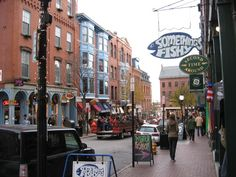Old Town Portland Maine   Favorite Places & Spaces
