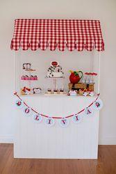 "Birthday ""Strawberry Market Stall"" | Catch My Party"