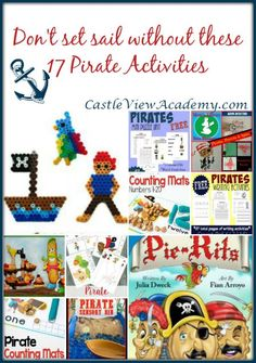 17 Pirate Activities on Mom's Library - Castle View Academy