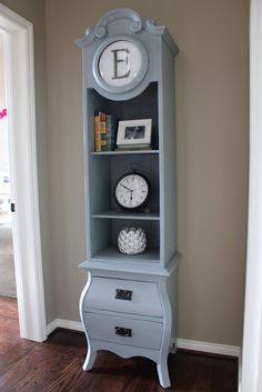 Life on Nickelby: Clock Transformation...love this color