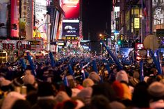 Celebrate NYE's in Time Square